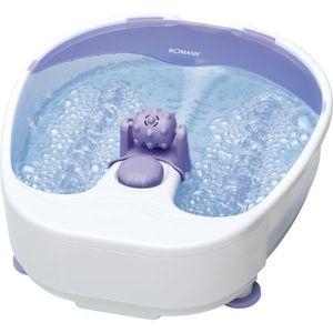 BOMANN Fußmassagegerät FM 8000 CB weiß-lila Fußsprudelbad Fußpflegebad Fußbad