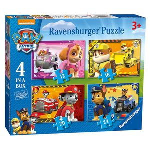 4 in 1 Puzzle Box | Kinder Legespiel | Ravensburger | Paw Patrol