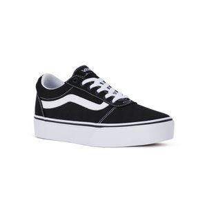 VANS Damen Sneaker Sneaker Low Textil schwarz 38