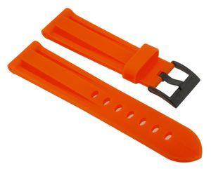 Nautica Damen A15602GS > Uhrenarmband 22mm orange Kunststoff A15604GS