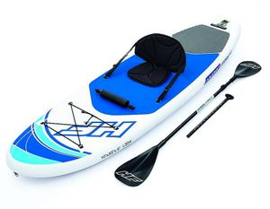 Bestway Hydro-Force™ SUP Allround-Board-Set mit Sitzfunktion Oceana 305 x 84 x 15 cm - Neue 2020 Modelreihe