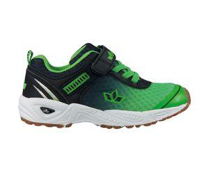 LICO Kinder Sneaker BARNEY VS 360628 GRUEN/SCHWARZ, Farben:grün, Kinder Größen:32