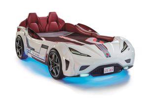 Cilek GTS Autobett 100x190 cm Weiß, Matratze:mit