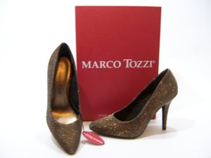 Marco Tozzi High Heel 10cm glitzer 40