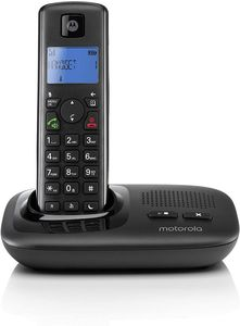 Motorola T411 Telefon, Rufnummernanzeige, Freisprechfunktion, Ethernet