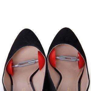 2er Set Baum Kunststoff Schuh High Heels Stiefel Schuhfüller Schuhdehner Schuhspanner Schuhweiter Schuhstrecker Farbe rot