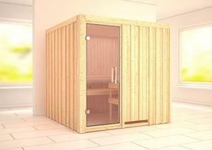 INTERLINE System Sauna Set Tolja 70mm  200 x 200 x 200 Rechteck