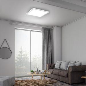 LED Deckenleuchte Panel Deckenstrahler 12W quadratisch weiß Briloner Leuchten