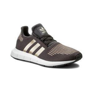 adidas Originals Sneaker Swift Run Junior Turnschuhe Grau Schuhe, Größe:36 2/3