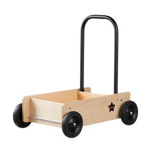 Kids Concept 412648 Lauflernwagen Holz natur mit Bremse Neo