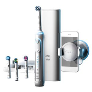 Braun Oral-B Genius 9000s   Elektrozahnbürste   weiß   Positons-Erkennung   6 Modi inkl. Bluetooth   12 farbiger LED Leucht-Ring