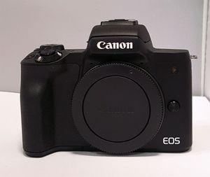 Canon EOS M50 + EF-M 3,5-6,3/15-45 mm IS STM Kamerakit schwarz