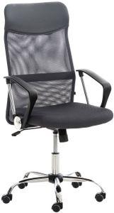 CLP Bürostuhl Washington höhenverstellbarer, drehbare und mit Leichtlaufrollen, Farbe:grau