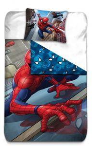 Marvel bettwäsche Spider-Man 140 x 200 cm rot/blau
