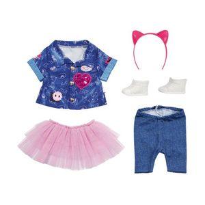 BABY born Deluxe Jeans Kleid Set 43 cm