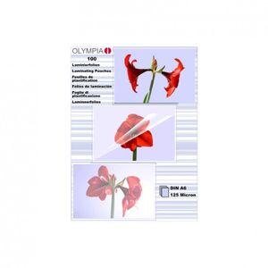 OLYMPIA - Laminiertes Band - durchsichtig - A6 (105 x 148 mm) 100 Stck.