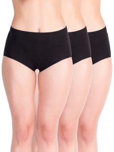 Yenita® Taillen-Slips 6er Set, mit Einziehgummi 40-42 schwarz