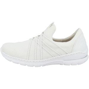Rieker Damen Slipper Weiß, Schuhgröße:EUR 38