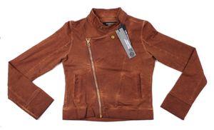 Design Jacke Gr. 116 +31 BPI f. Mädchen Kinder / Braun / Übergangsjacke