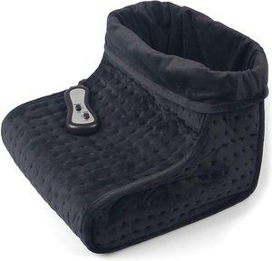UK Vidabelle Fußwärmer mit Massagefunktion dunkelgrau 2 Temperatureinstellungen