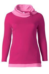 Sheego Damen Longshirt, pink-rosa, Größe:40/42