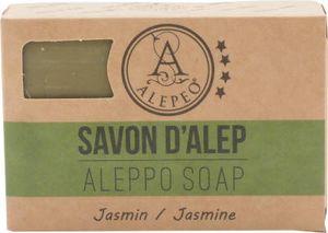 ALEPEO   Aleppo Seife   Formseife Jasmin   Mit Lorbeer- & Olivenöl für Körper & Haar   100% Vegan, Handgemacht, ohne Palmöl, ohne Plastik