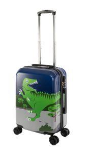 Travelhouse - Happy Children - Green Dino - Kinderkoffer Kindertrolley 41L