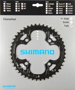 Shimano Deore FC-M480 Kettenblatt für Kettenschutzring schwarz Ausführung 44 Zähne