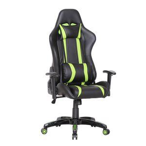 SVITA Bürostuhl Racingstuhl Schreibtischstuhl Schwarz Grün