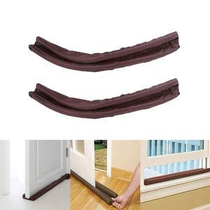 2er Set Unter Der Tür Zugluftblocker Geräuschreduzierendes Türfenster Einfach Zu Installieren
