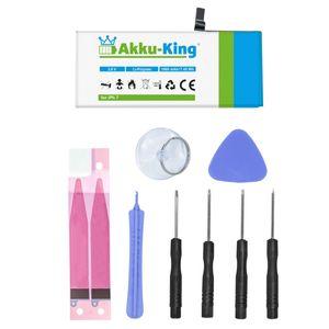 Akku kompatibel mit iPhone 7 - Li-Polymer 1960mAh - mit Öffnungswerkzeug / Klebestreifen