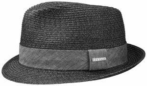 Stetson Trilby Toyo schwarzweiss