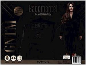 GNTM Germanys next Topmodel Bademantel Morgenmantel - schwarz - L/XL Germanys