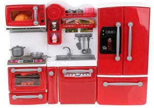 Puppenküche mit Accessoires und Zubehör 47 tlg. Spielset Küche 9425