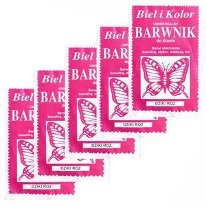 5 x 10g Batikfarbe Textilfarbe Stofffarbe färben, bitte Farbmix wählen, Farbe:pink