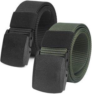 Stufenlos verstellbarer Stoffgürtel 130 cm lang und 38 cm breit mit Kunststoffschnalle