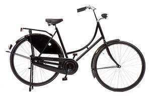 Avalon Hollandräder Damen Budget-Export 28 Zoll 56 cm Damen Rücktrittbremse Schwarz