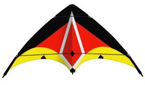 Paul Günther 1087 - Sportlenkdrachen SPORT LOOP, 130 x 69 cm, Allround-Lenkdrachen 4001664010875