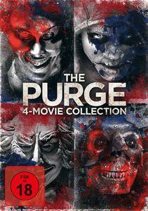 Purge, The  1-4  Movie Box (DVD) 4Disc SäuberungAnarchyElection YFirst Purge