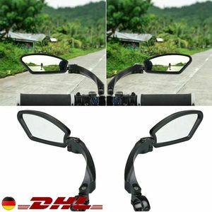 Universal Paar Rechts + Links Rückspiegel für E-Bike Fahrradspiegel Spy Space Spiegel Fahrrad 3D DE