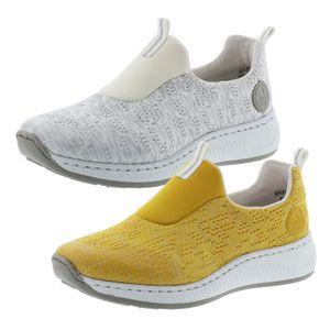 Rieker N5595 Damen Schuhe Slipper  Halbschuhe, Größe:40 EU, Farbe:Grau