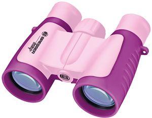 BRESSER JUNIOR Kinderfernglas 3x30 in verschiedenen Farben Farbe: rosa