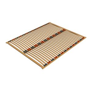 Ecolignum | Lattenrost NARVA - 120x200 cm. | Lattenrahmen Birke (Furniert) - 56 Federholzleisten