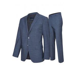 Daniel Hechter - Modern Fit - Herren Baukasten Anzug in grau oder Blau  (100105), Größe:114, Farbe:Blau (670)