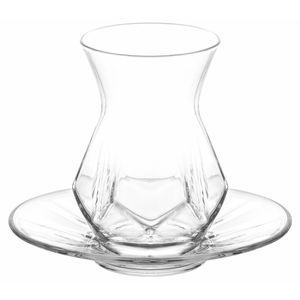 LAV Alya Türkische Teegläser Teeglas Set 12 teilig - 6 Personen Cay Bardak