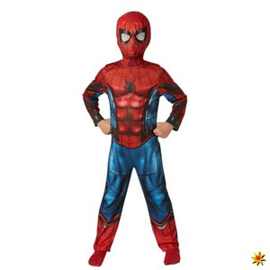 Kinderkostüm Spiderman Homecoming Classic, Größe:L (7-9 Jahre)