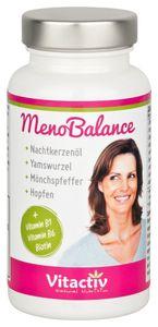 Meno Balance für die Wechseljahre, mit Nachtkerzenöl, Yamswurzel, Mönchspfeffer, natürlich und hormonfrei -  Menopause