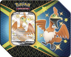 Pokemon Sammelkarten SWSH 4.5 Tin Box 'Glänzendes Schicksal', Charakter:Urgl-V