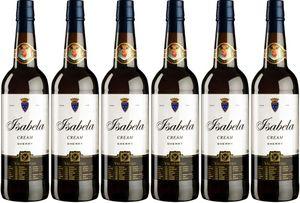 6x Cream Isabela  – Valdespino Sherry, Jerez-Xèrés-Sherry – Weißwein