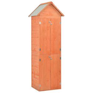 vidaXL Garten-Geräteschuppen 71x60x213 cm Holz